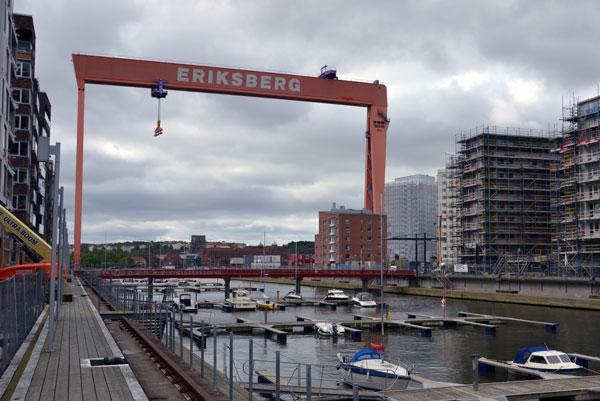 Bockkranen i Eriksberg