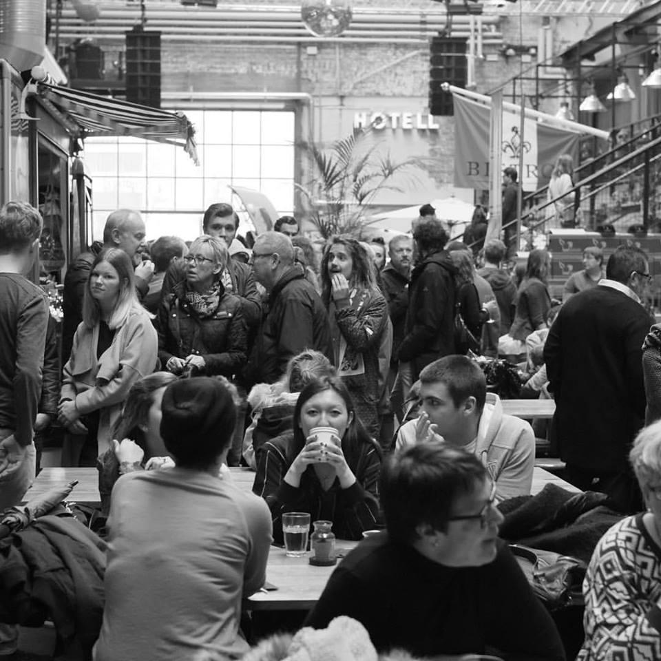 Steet food Market